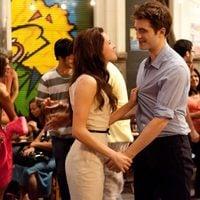 Kristen Stewart y Robert Pattinson, felices en 'Amanecer: Parte 1'