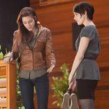 Bella se prueba los tacones del vestido en 'Amanecer: Parte 1'