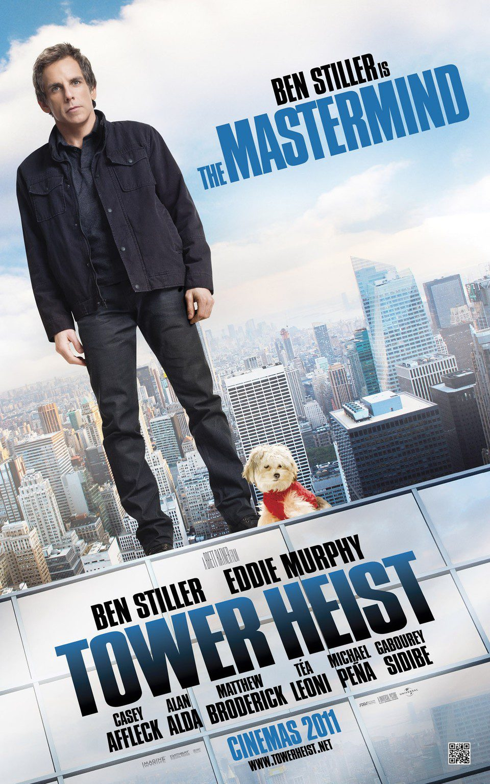 Póster de Ben Stiller en 'Un golpe de altura'