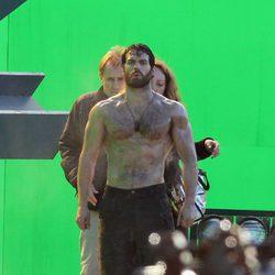 Henry Cavill ha ido al gimnasio para interpretar a Superman