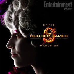 Elizabeth Banks es Effie en 'Los Juegos del Hambre'