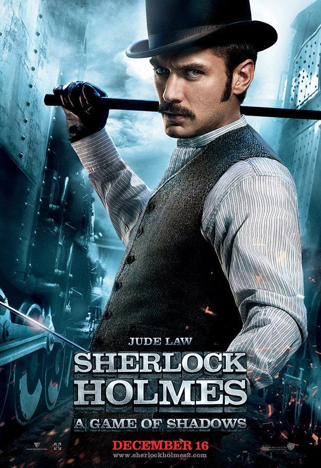 Jude Law es el doctor Watson en 'Sherlock Holmes: Juego de sombras'