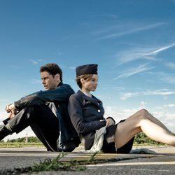 Imagen del rodaje de 'El cosmonauta', de Riot Cinema