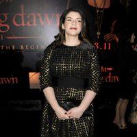 Stephenie Meyer en la premiére de 'Amanecer: Parte 1' en Los Angeles