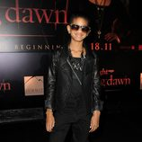 Willow Smith en la premiére de 'Amanecer: Parte 1'