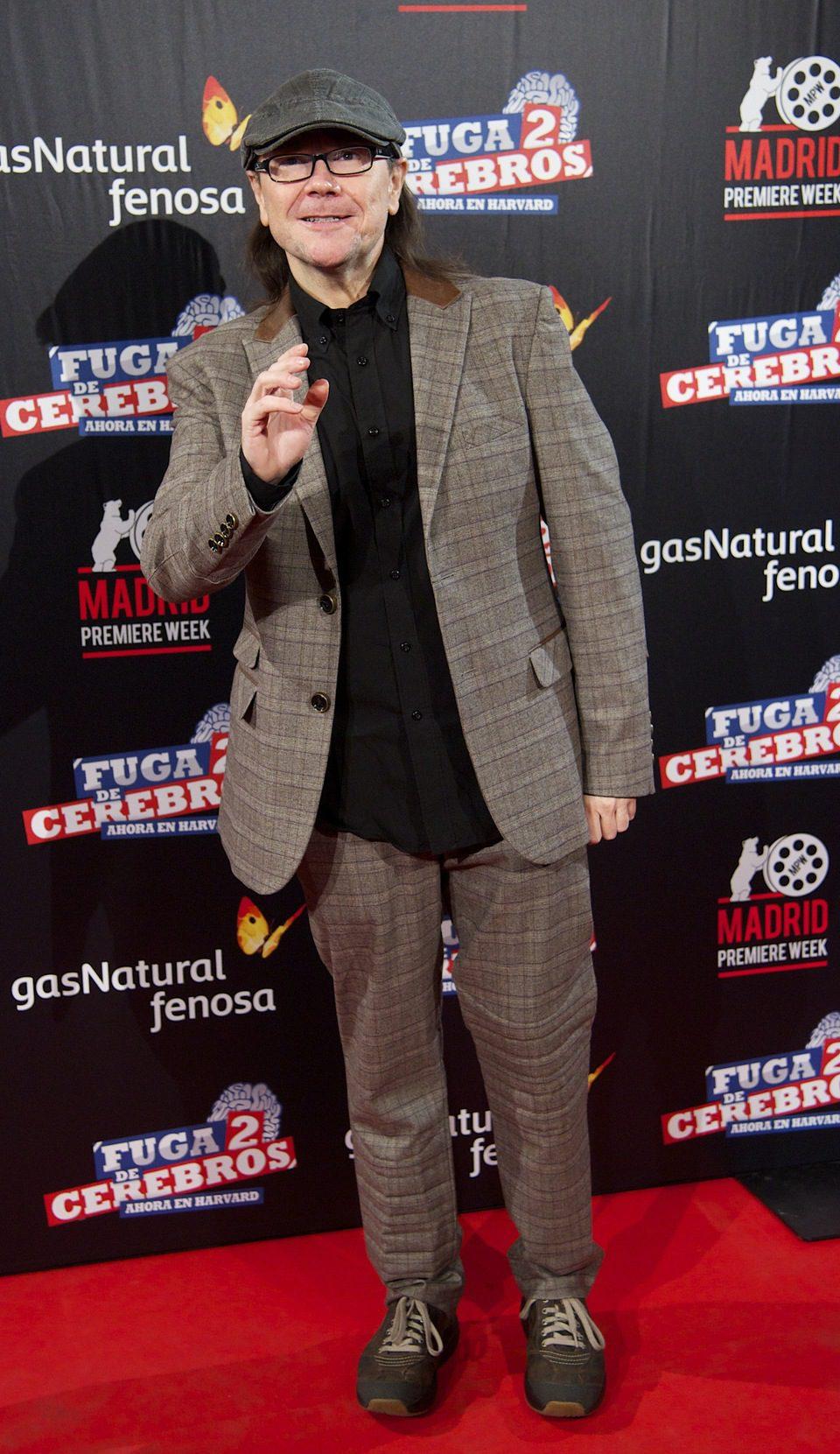 Santiago Segura asiste a la premiére en Madrid de 'Fuga de cerebros 2'