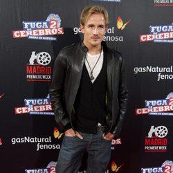 Jesse Johnson en la premiére de 'Fuga de cerebros 2' en Madrid