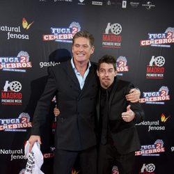 David Hasselhoff y Adrián Lastra presentan en Madrid 'Fuga de cerebros 2'