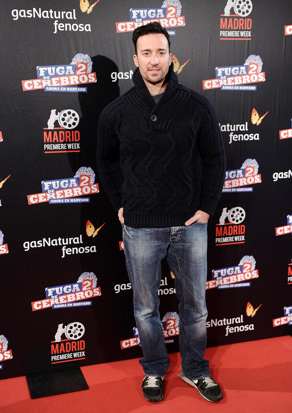 Pablo Puyol, invitado en la premiére de 'Fuga de cerebros 2'