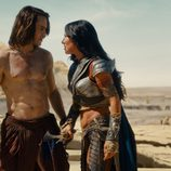 John Carter y la princesa Dejah Thoris