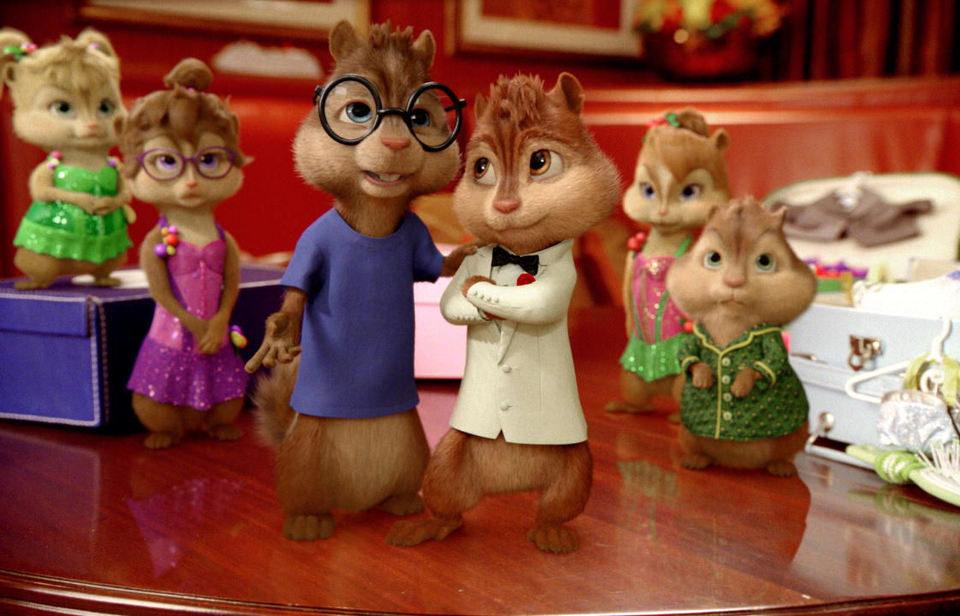 Alvin y las ardillas 3, fotograma 3 de 9