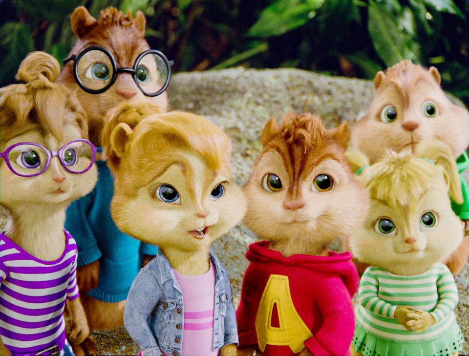Alvin y las ardillas 3, fotograma 1 de 9