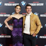 Paula Patton y Tom Cruise promocionan 'Misión Imposible' en Madrid