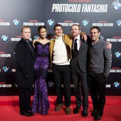 El equipo de 'Misión Imposible: Protocolo Fantasma' presenta la película en Madrid