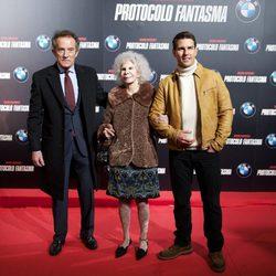 Tom Cruise presenta 'Misión Imposible: Protocolo Fantasma' acompañado de la Duquesa de Alba y su marido