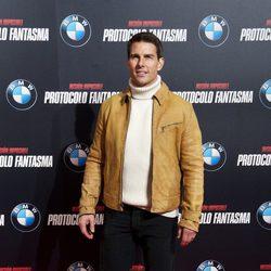 Tom Cruise visita Madrid para presentar 'Misión Imposible: Protocolo Fantasma'