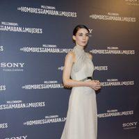 Rooney Mara en la premiere en Madrid de 'Los hombres que no amaban a las mujeres'