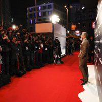 Daniel Craig posa ante los medios en la premiere en Madrid de 'Los hombres que no amaban a las mujeres'