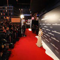 Rooney Mara posa ante los medios en la premiere en Madrid de 'Los hombres que no amaban a las mujeres'