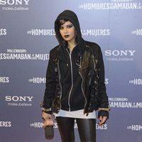 Cristina Pedroche disfrazada de Lisbeth Salander en la premiére madrileña de 'Los hombres que no amaban a las mujeres'