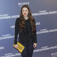 Adriana Torrebajeno en la premiére de 'Los hombres que no amaban a las mujeres'