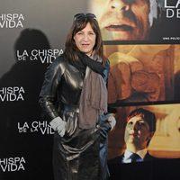 Blanca Portillo en la rueda de prensa de 'La chispa de la vida' en Madrid