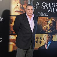 Juan Luis Galiardo en la presentación a la prensa de 'La chispa de la vida'