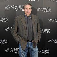 Juanjo Puigcorbé en la rueda de prensa de 'La chispa de la vida'