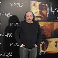 Manuel Tallafé en el evento para medios de 'La chispa de la vida'