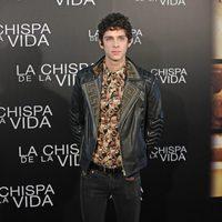 Eduardo Casanova en el pase de prensa de 'La chispa de la vida' en Madrid