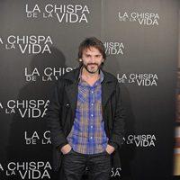 Fernando Tejero en la rueda de prensa de 'La chispa de la vida'