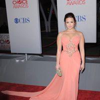 Demi Lovato llega a los People Choice Awards 2012