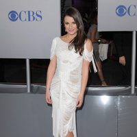 Lea Michele en la alfombra roja de los People Choice Awards 2012