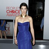 Cobie Smulders en el photocall de los People Choice Awards 2012