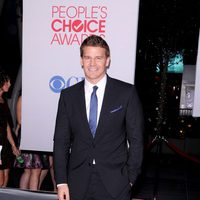 David Boreanaz en la alfombra roja de los People Choice Awards 2012