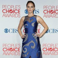 Jennifer Lawrence en el photocall de los People Choice Awards 2012