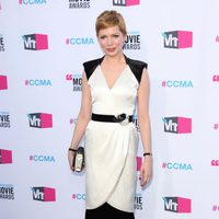 Michelle Williams en la alfombra roja de los Critics' Choice Awards 2012