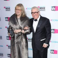 Martin Scorsese llega a los Critics' Choice Awards 2012