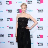 Evan Rachel Wood en la alfombra roja de los Critics' Choice Awards 2012