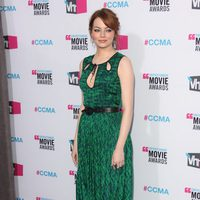 Emma Stone en los Critics' Choice Awards 2012
