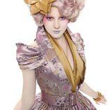 Elizabeth Banks como Effie Trinket en 'Los Juegos del Hambre'