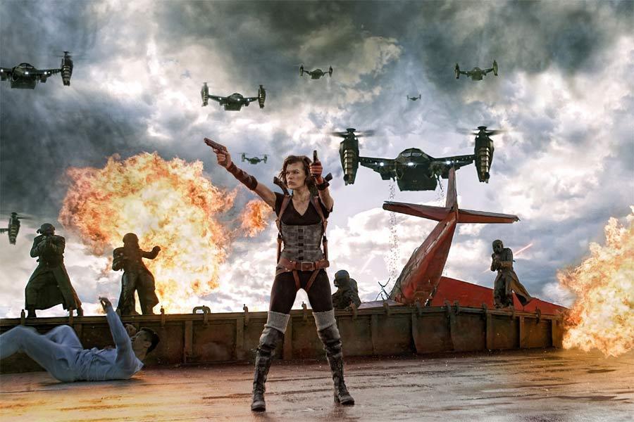 Resident Evil: Venganza, fotograma 1 de 21