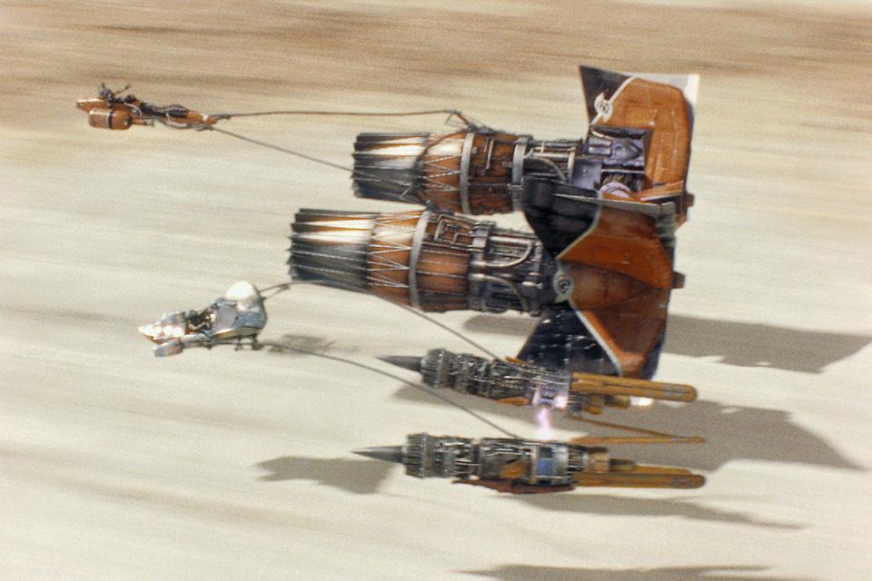 Star Wars: Episodio I - La amenaza fantasma, fotograma 3 de 10