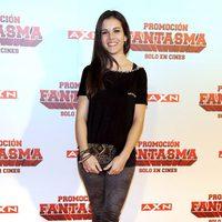 Sandra Blázquez en la premiére de 'Promoción fantasma'