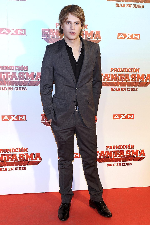 Jaime Olías en la premiére madrileña de 'Promoción fantasma'