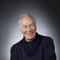 "Christopher Plummer en la exposición ""Out of the Character"""