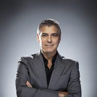 "George Clooney en su retrato para ""Out of the Character"""