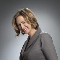 "Janet McTeer en la exposición ""Out of the Character"""