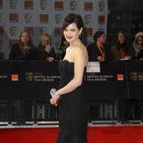 Elizabeth McGovern en la alfombra roja de los BAFTA 2012