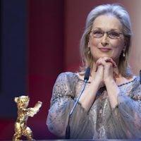 Meryl Streep recoge su Oso de Oro en la Berlinale 2012